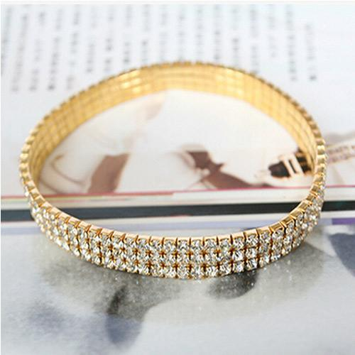 Silver and Gold Ankle Chain Women Bracelet
